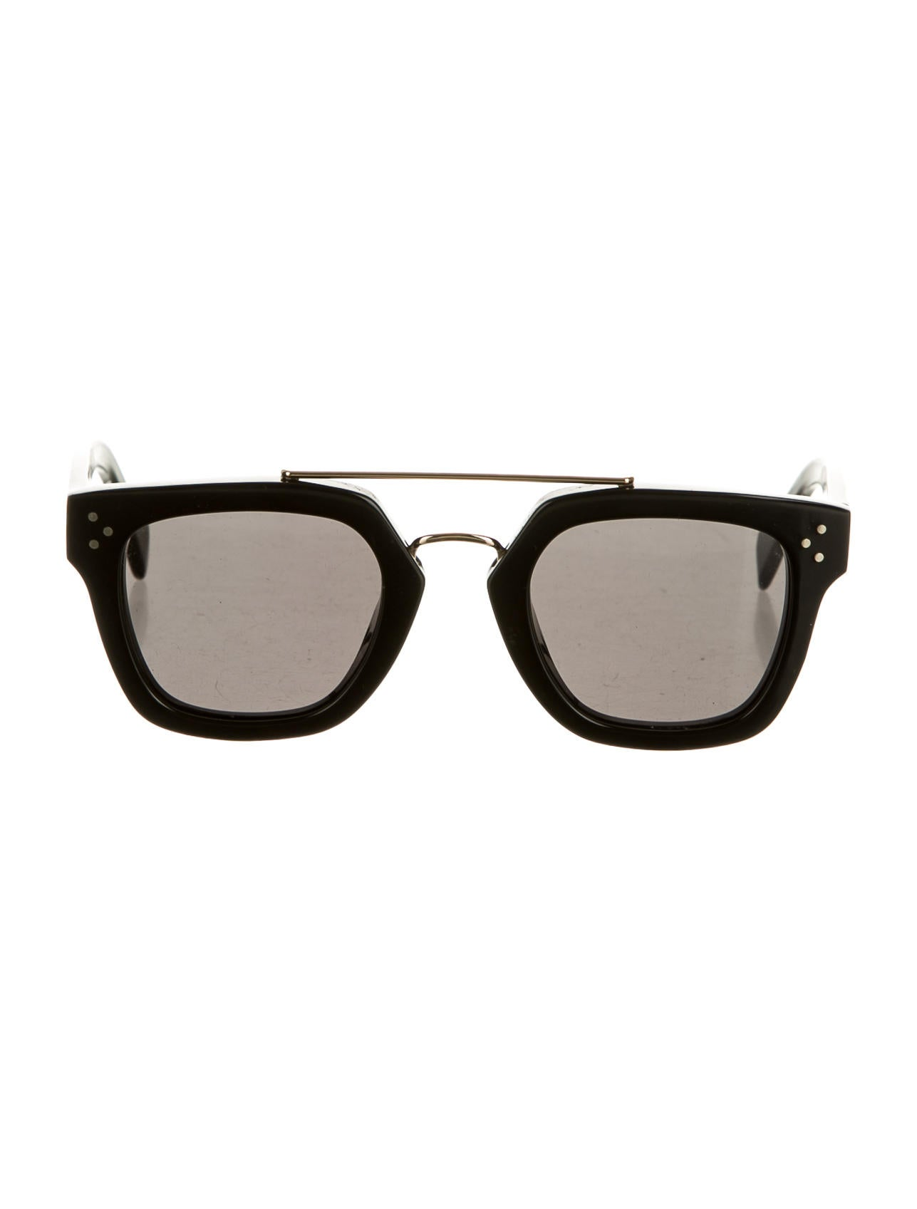 Celine Gold Frame Sunglasses : Celine Sunglasses - Accessories - CEL24965 The RealReal