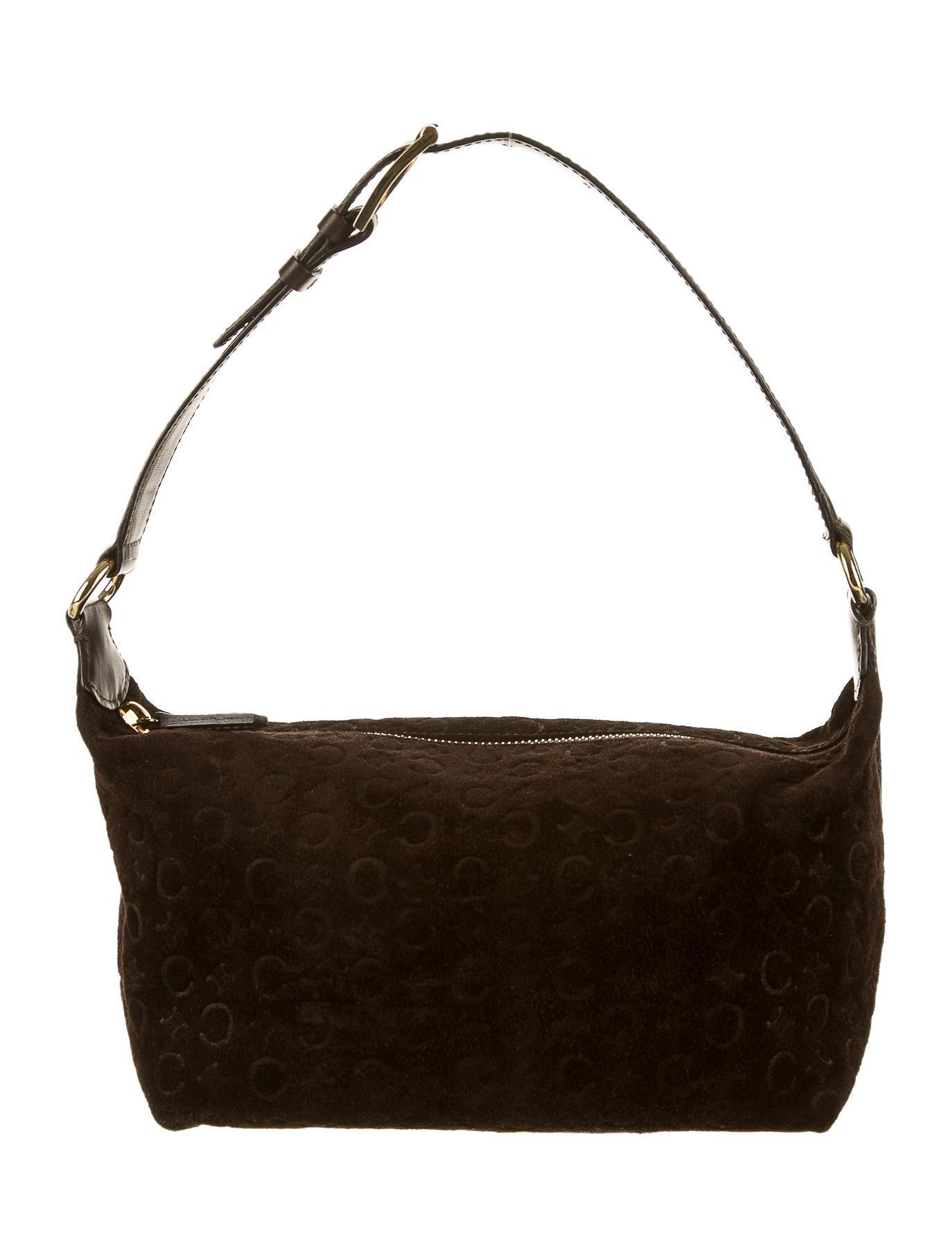 celine handbag vintage shoulder bag
