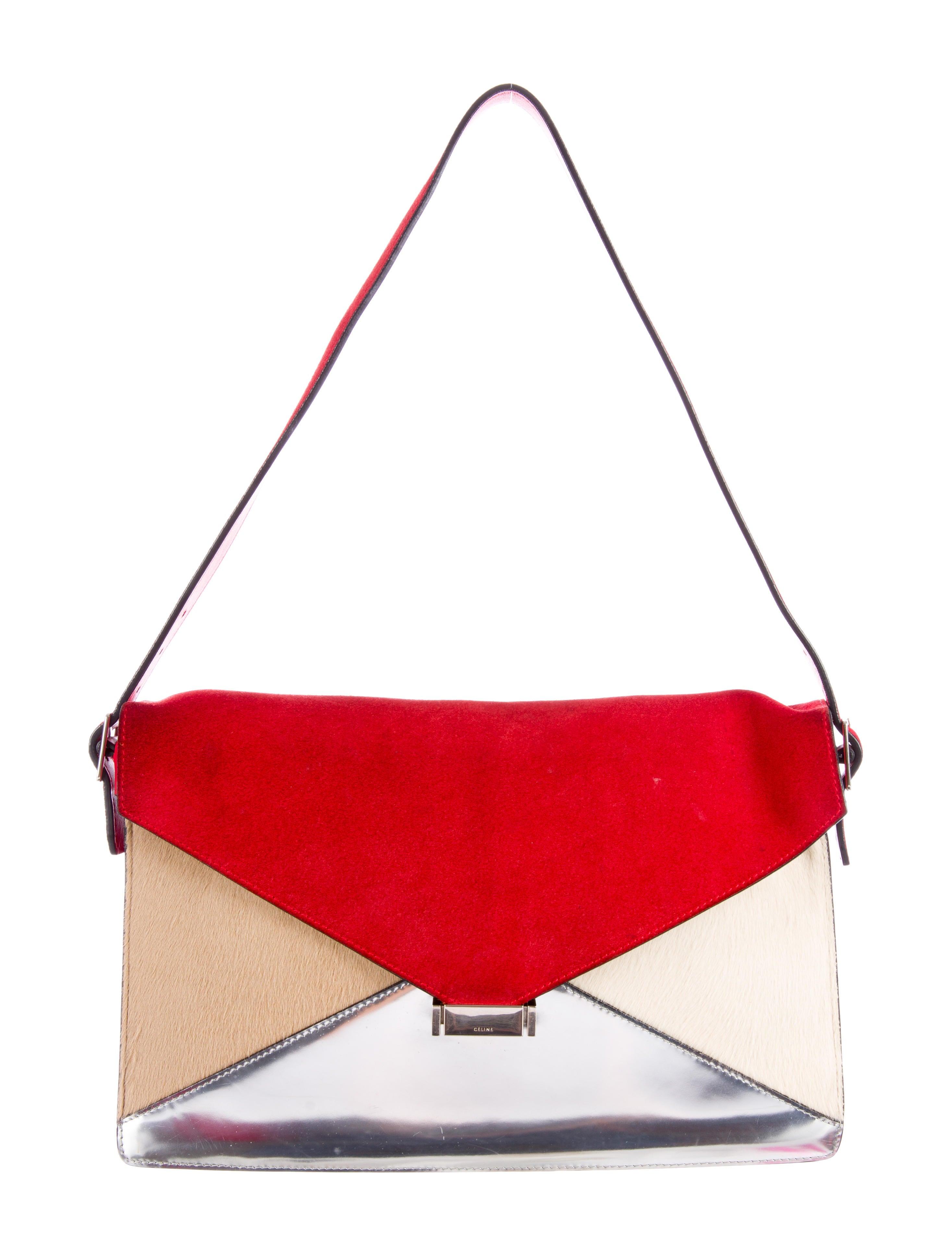 C¨¦line Diamond Shoulder Bag - Handbags - CEL26592 | The RealReal