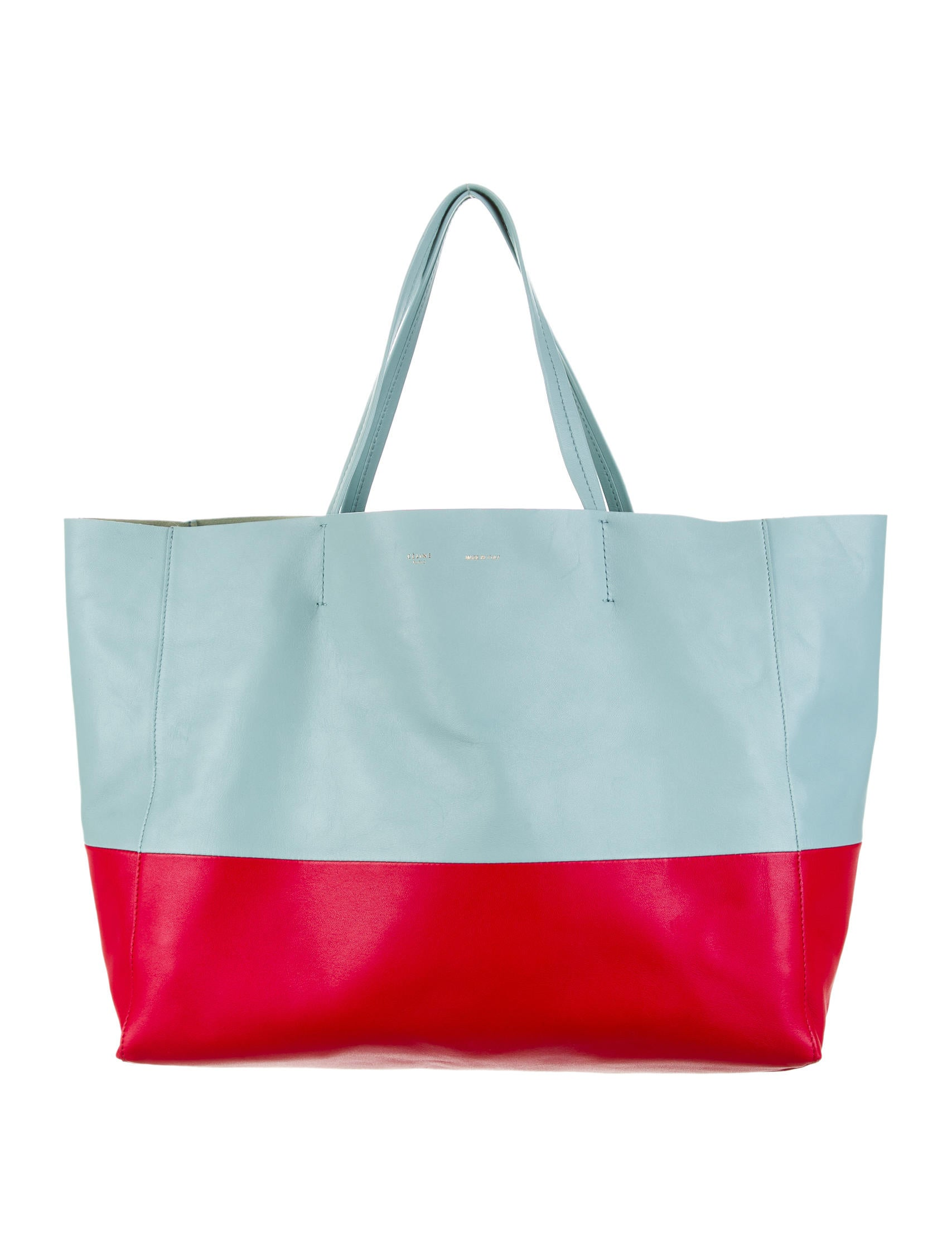 C¨¦line Bicolor Horizontal Cabas Tote - Handbags - CEL26604 | The ...