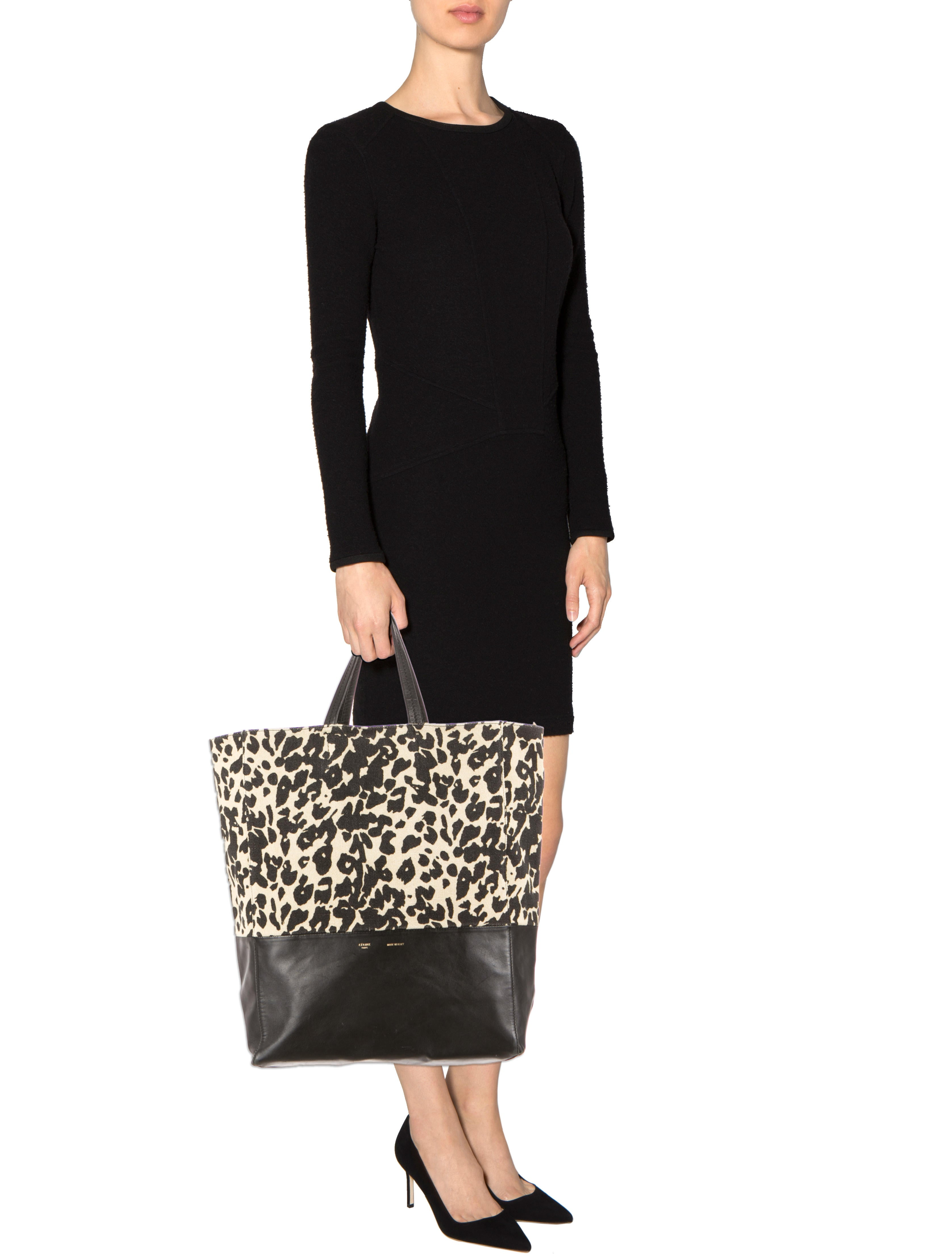 C¨¦line Leopard Print Bi-Cabas Tote - Handbags - CEL26847 | The ...