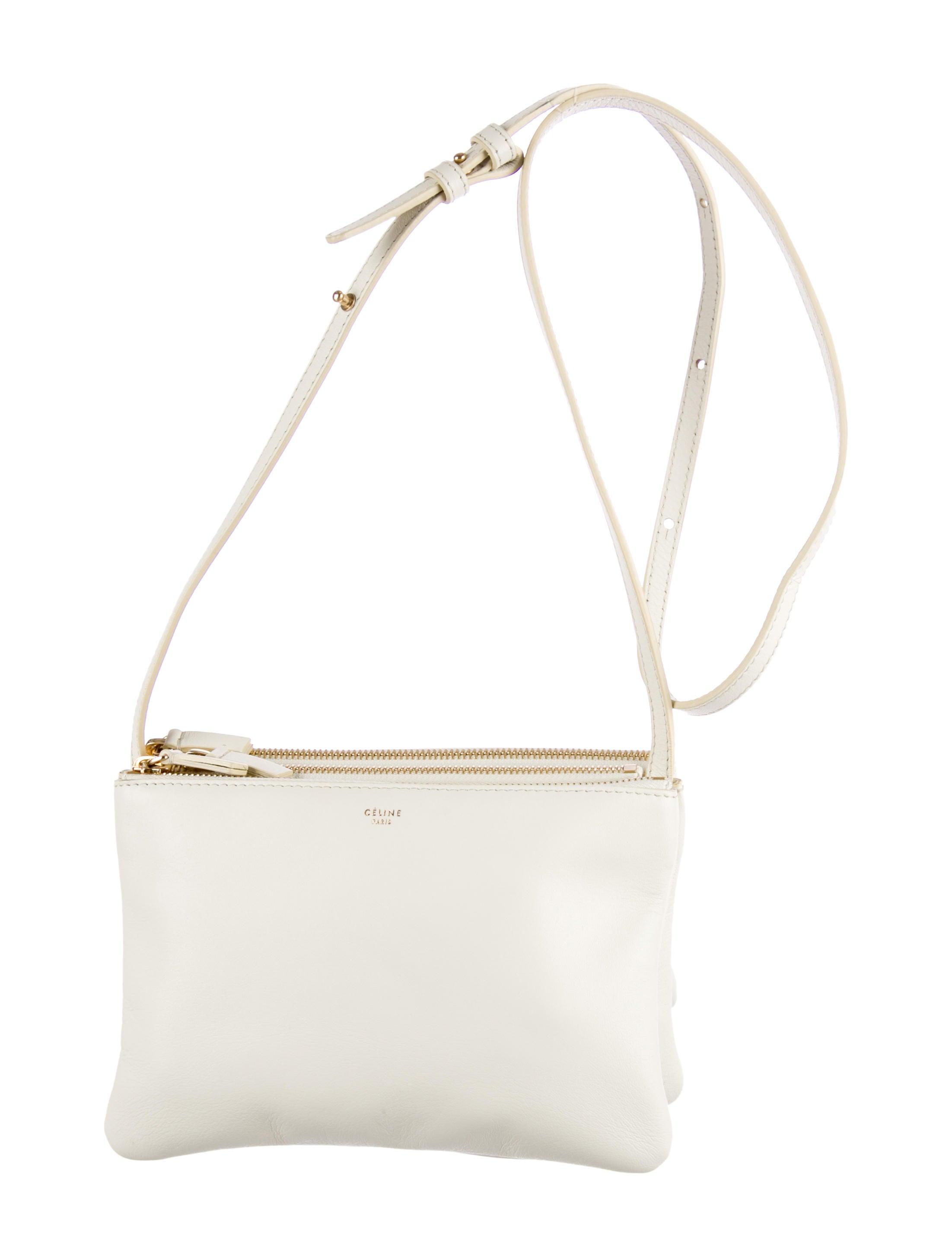 C¨¦line Small Trio Crossbody Bag - Handbags - CEL27616 | The RealReal