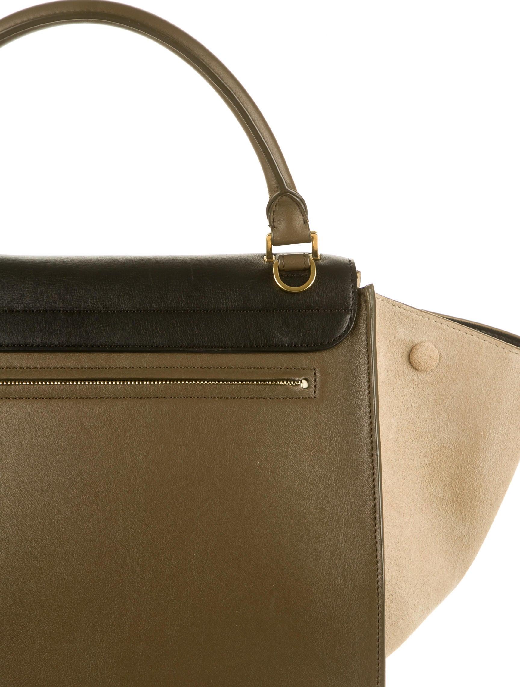 celine replica bags - celine medium trapeze bag w tags, celine luggage mini price uk