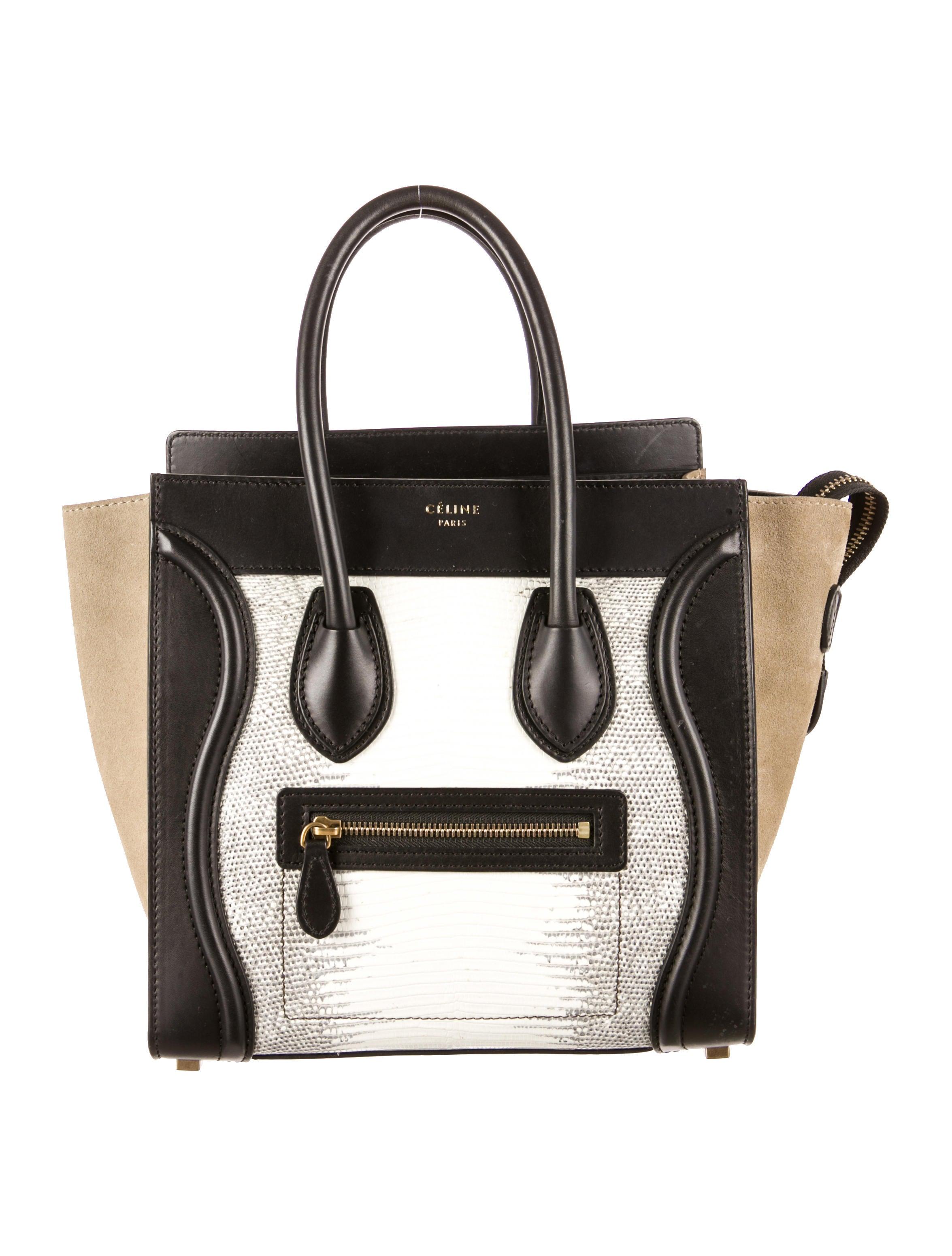celine luggage bag buy online - celine lizard handbag, celine nano luggage tote replica