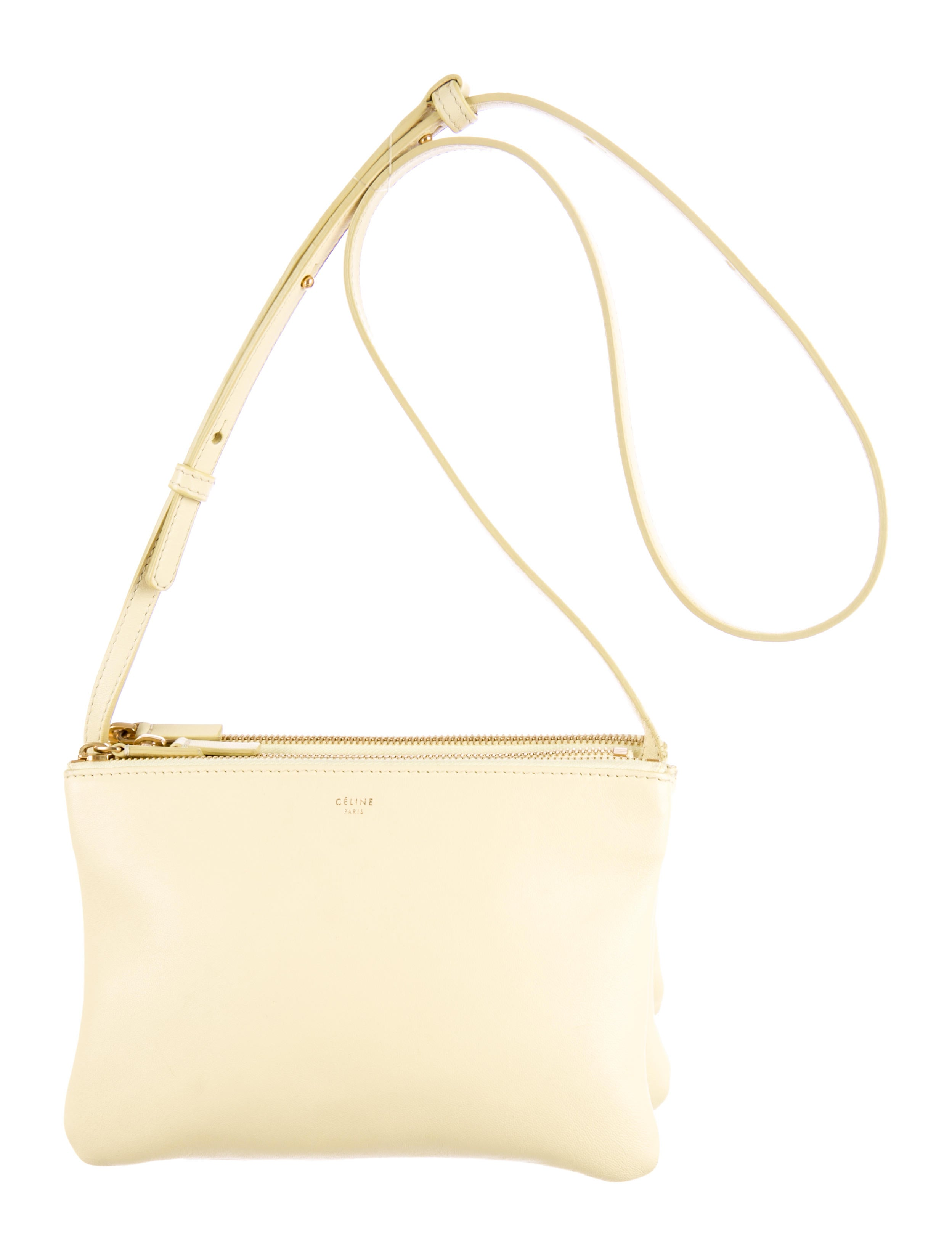 C¨¦line Small Trio Crossbody Bag - Handbags - CEL28070 | The RealReal