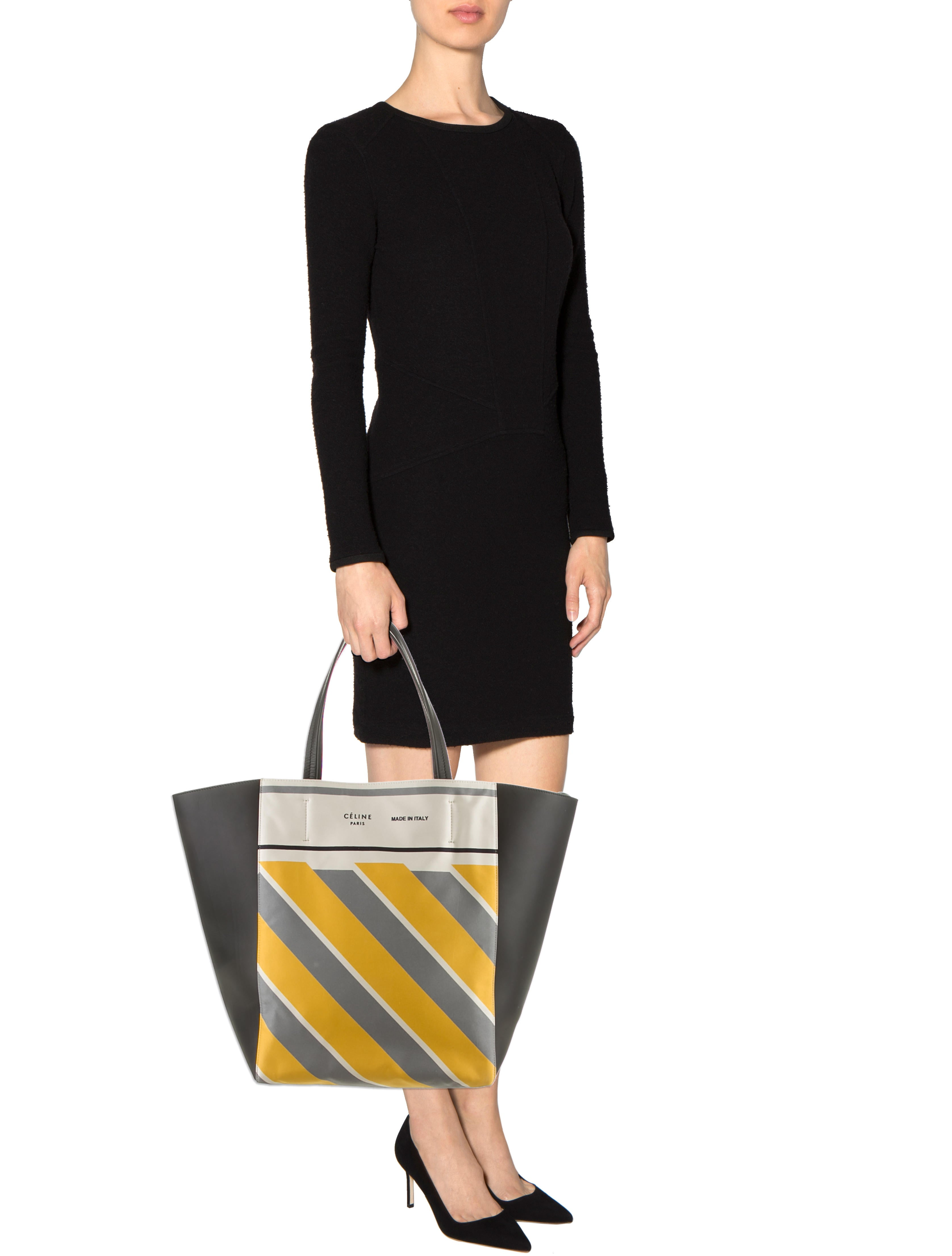 celine horizontal gusset cabas tote w tags