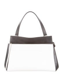 celine mini luggage tote bag - C��line Calfskin Hobo with Hook - Handbags - CEL32219 | The RealReal