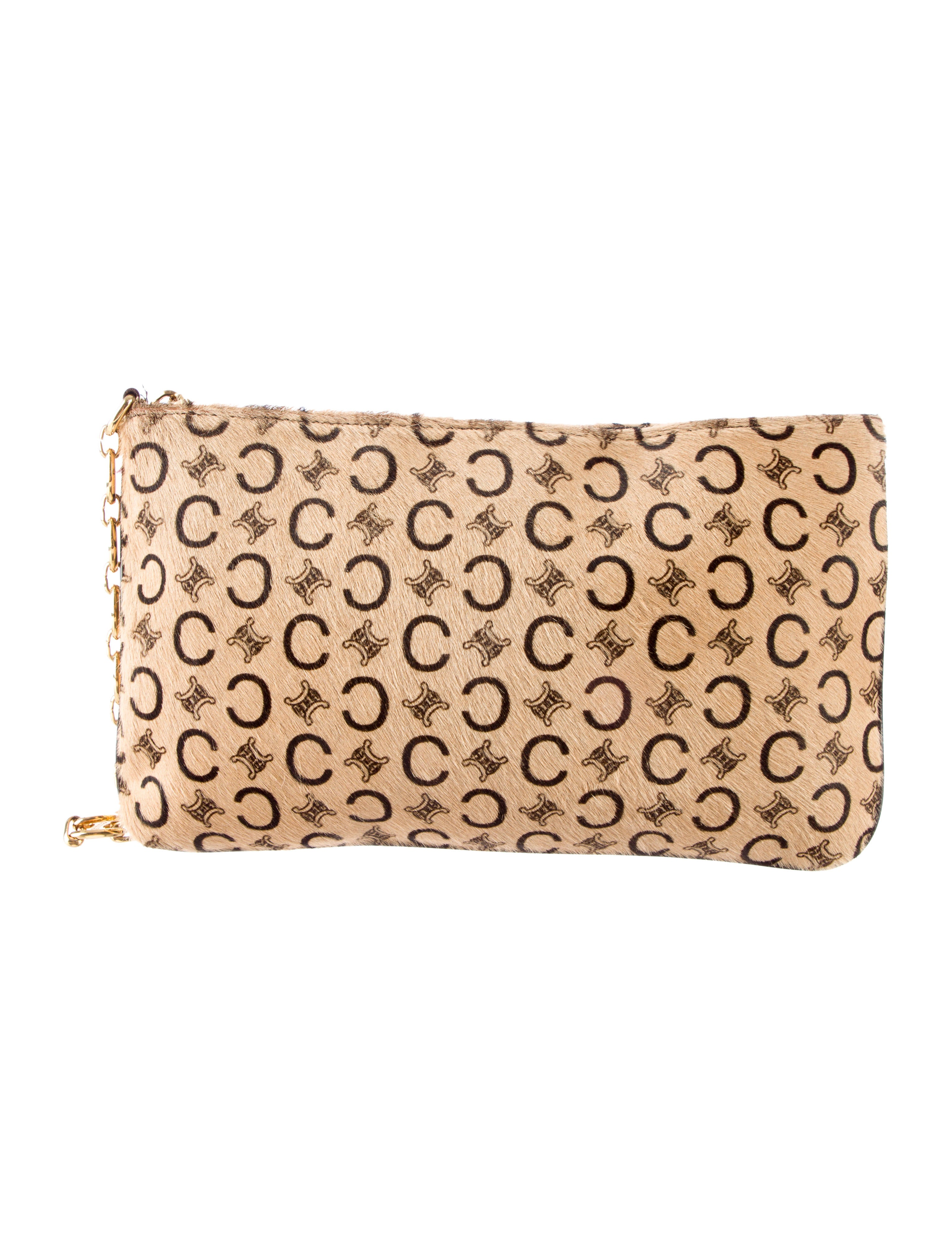 C��line Monogram Ponyhair Handle Bag - Handbags - CEL32545 | The ...