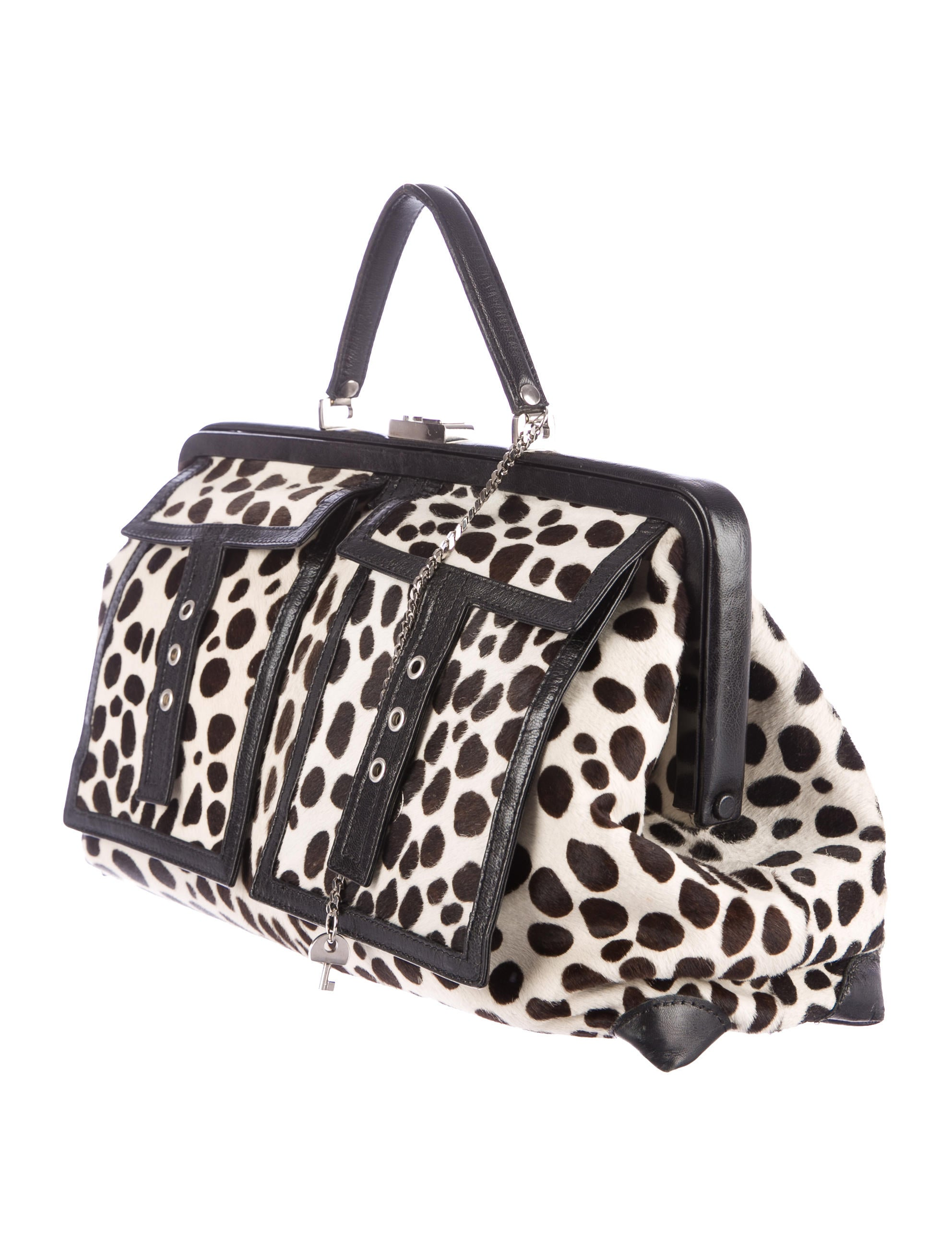 C��line Ponyhair Frame Bag - Handbags - CEL32652 | The RealReal