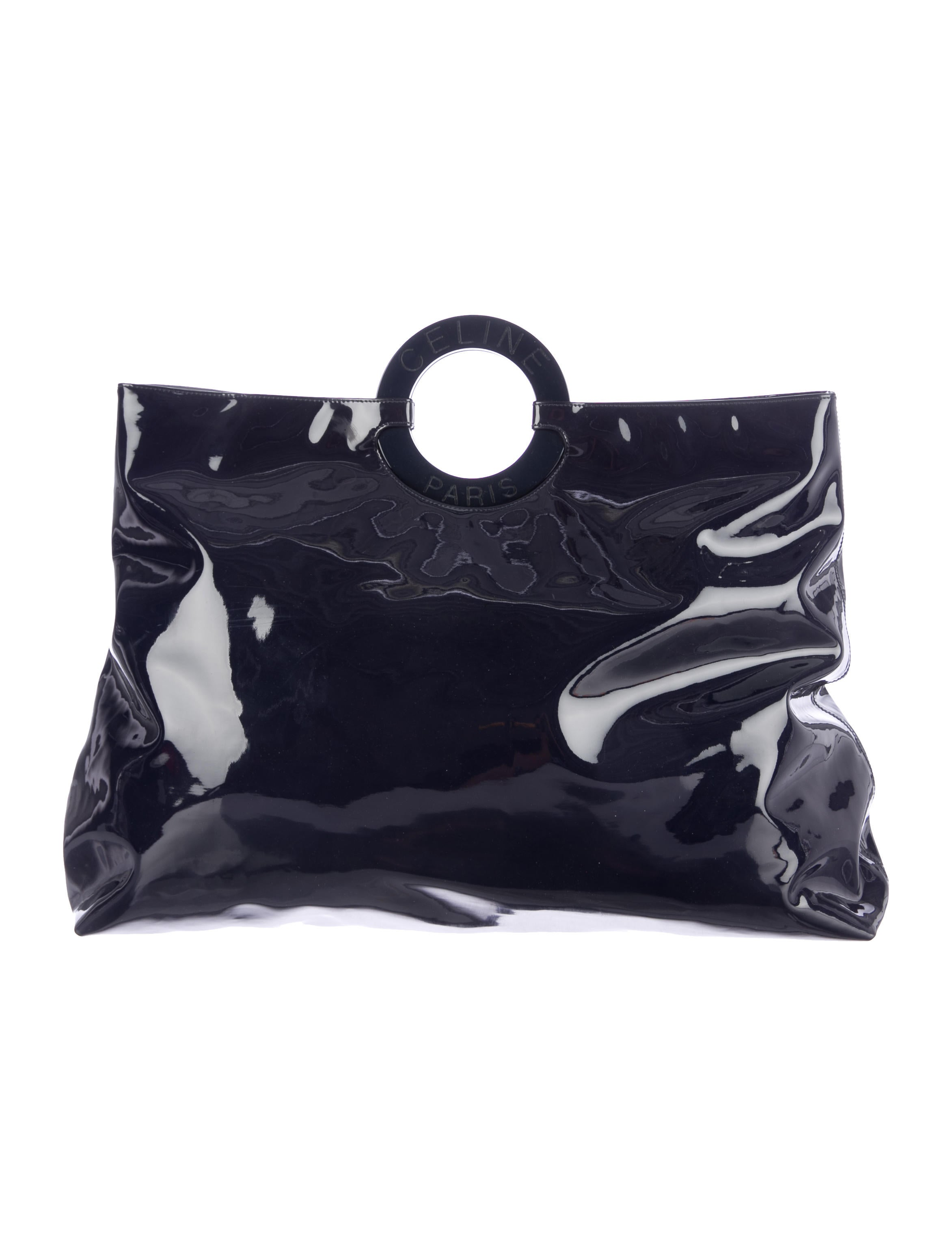 C��line Patent Leather Oversize Tote - Handbags - CEL33250 | The ...