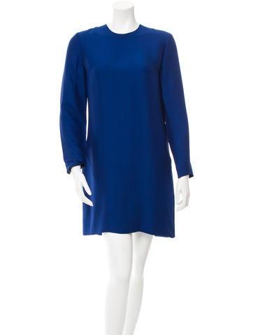 Céline Long Sleeve Shift Dress