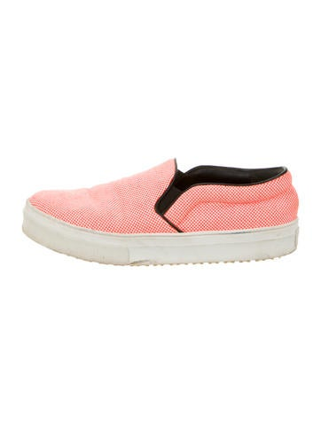 Céline Round-Toe Slip-On Sneakers