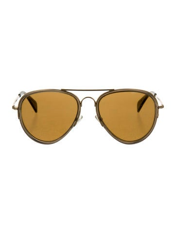 Céline Aviator Tinted Sunglasses