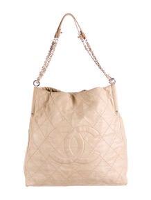 college purses - Yves Saint Laurent Pleated Shoulder Bag - Handbags - YVE43997 ...