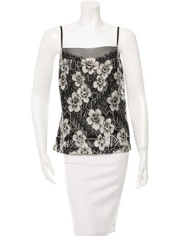 Chanel Sleeveless Lace Top w/ Tags None