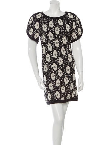 Chanel Floral Knit Dress w/ Tags None