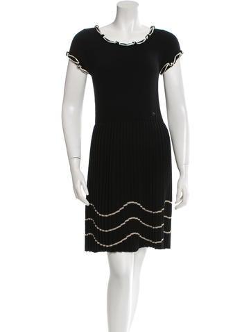 Chanel Wool Knit Dress None