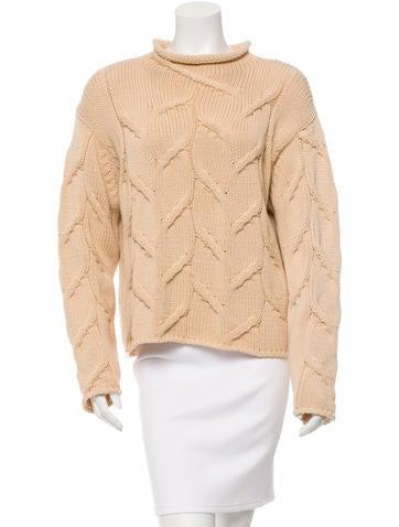 Chanel Turtleneck Wool Sweater None