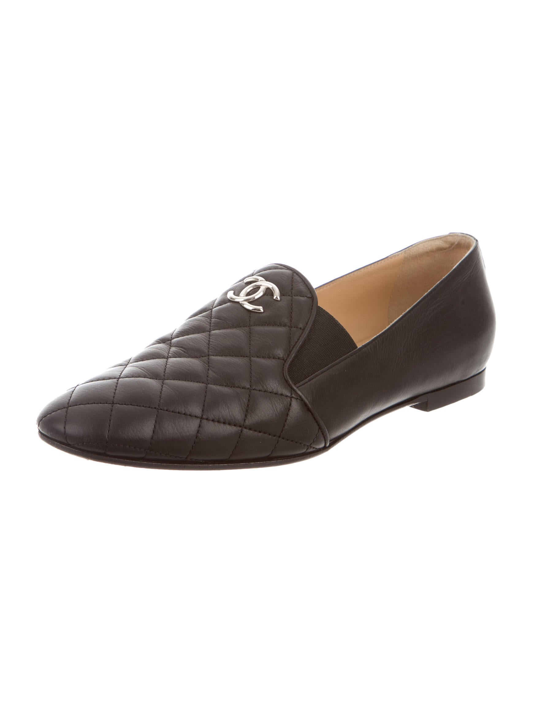 Chanel Quilted CC Loafers - Shoes - CHA123767 | The RealReal