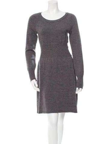 Chanel Wool Longsleeve Dress None