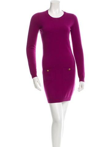Chanel Cashmere Sweater Dress None