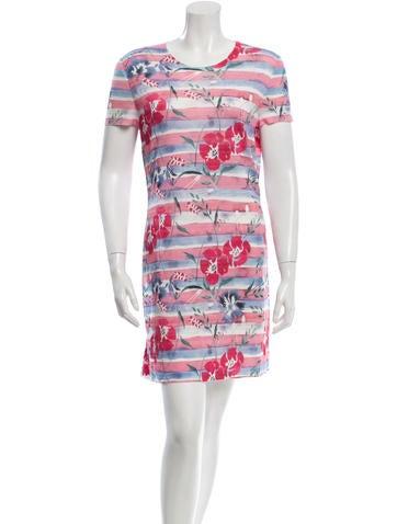 Chanel Floral Mini Dress None