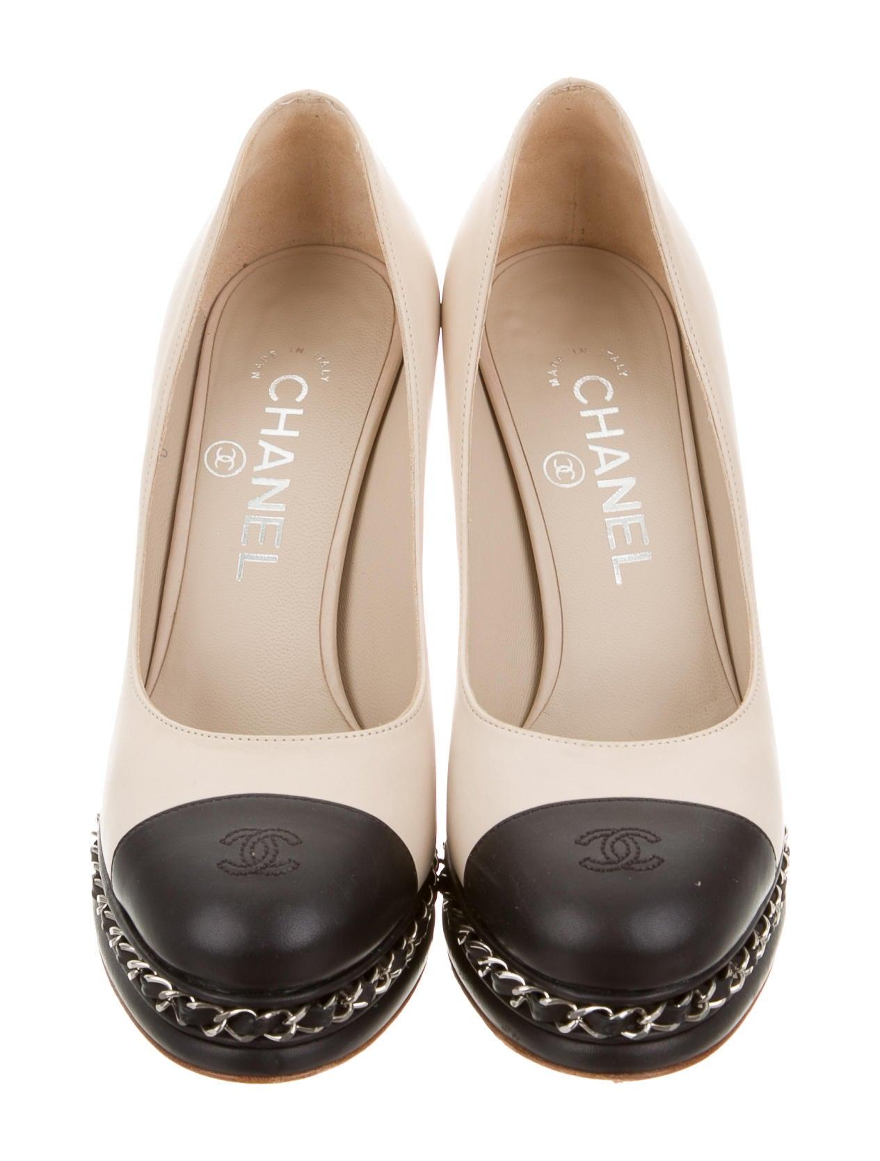0174023a3188d Chanel Women s Leather Pumps