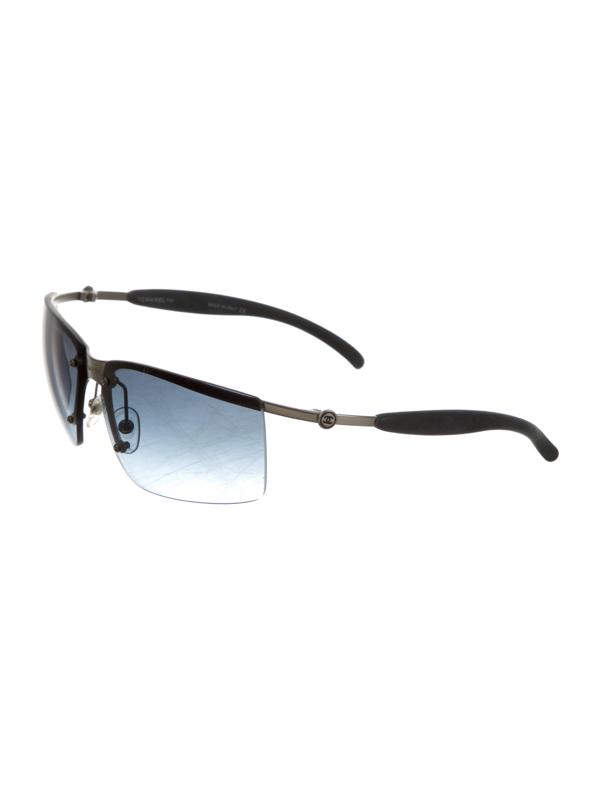 Rimless Chanel Glasses : Chanel Rimless Tinted Sunglasses - Accessories - CHA126623 ...