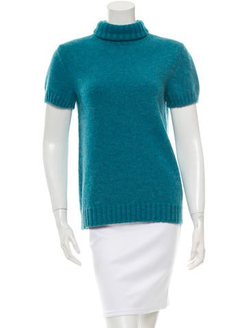 Chanel Wool Short Sleeve Sweater None