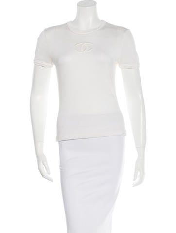 Chanel CC Knit Top None