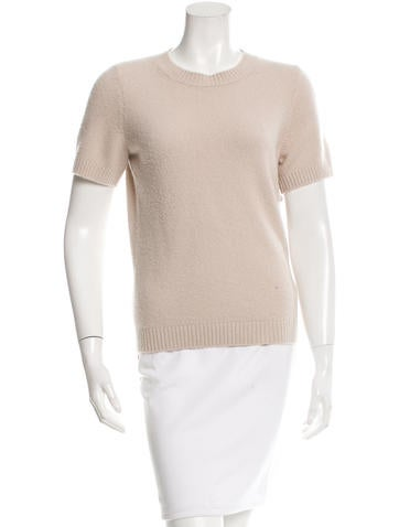 Chanel Cashmere & Wool-Blend Sweater None