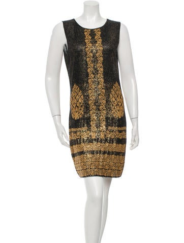 Chanel Patterned Knit Dress None