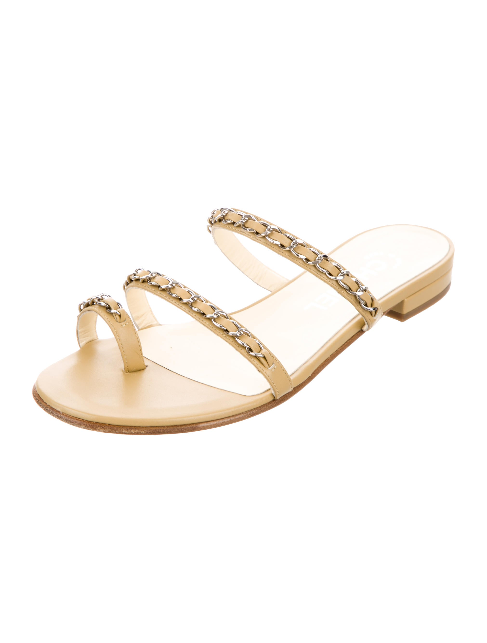 Chanel Cruise 2016 Slide Sandals - Shoes - CHA128416 | The RealReal