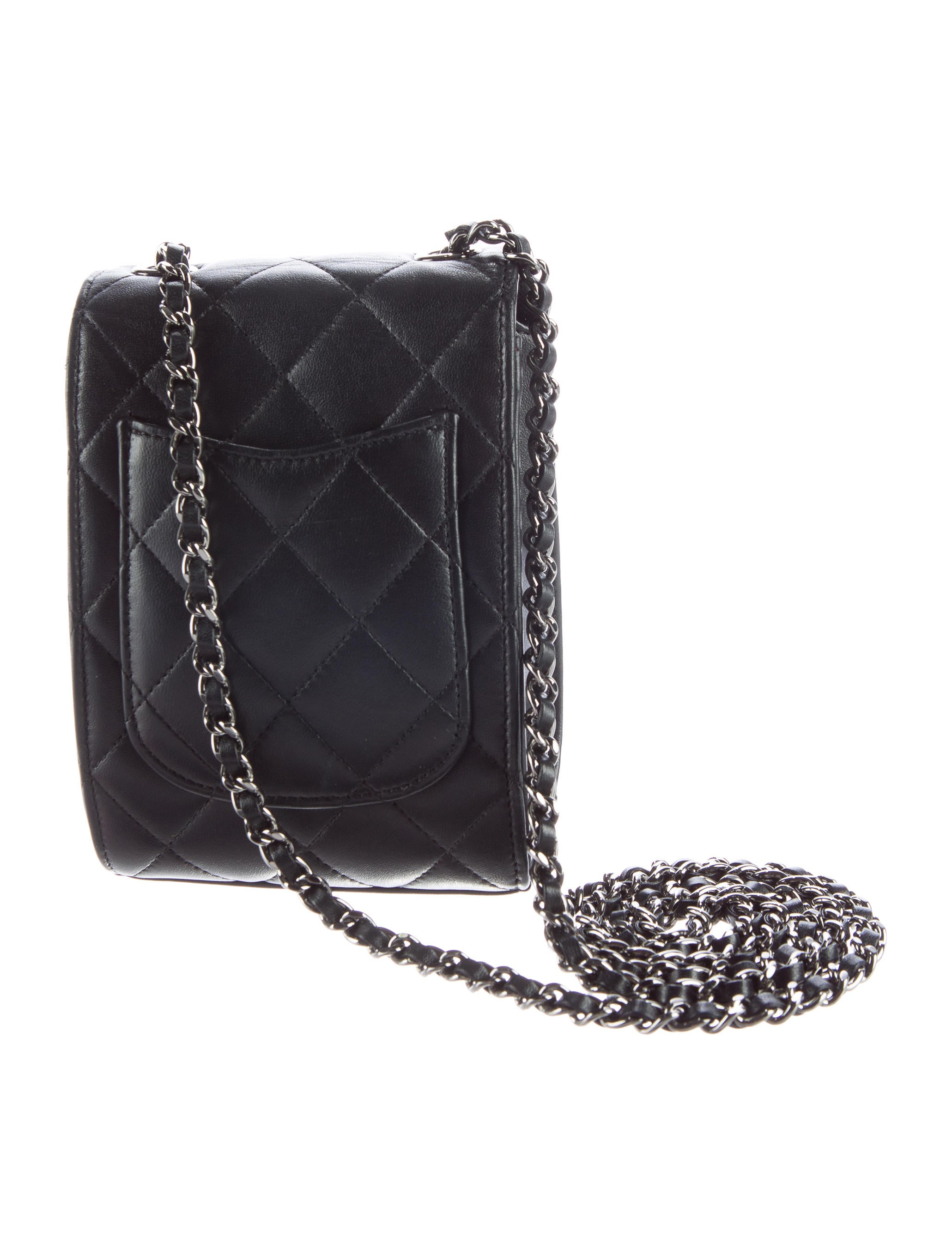 Chanel 2016 Quilted Mini Crossbody Bag Handbags