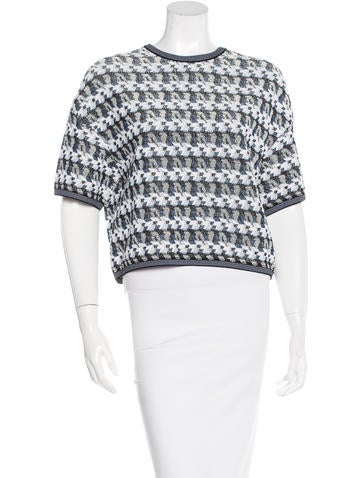 Chanel Spring 2016 Knit Top None