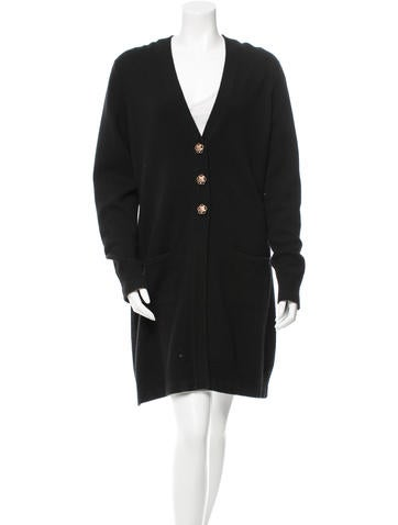 Chanel Cashmere Long Cardigan None