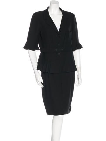 Belted Skirt Suit 9
