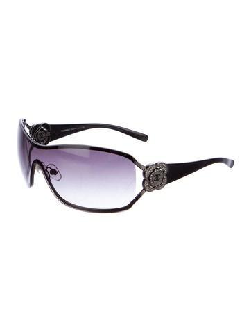 cfea008ad17fa Chanel Camellia Shield Sunglasses « Heritage Malta
