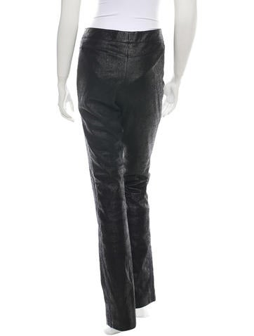 Chanel Leather Pants