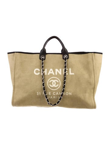 Chanel Deauville Extra Large Tote