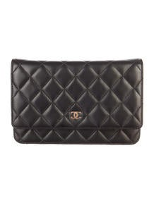 Chanel Quilted WOC Shoulder Bag