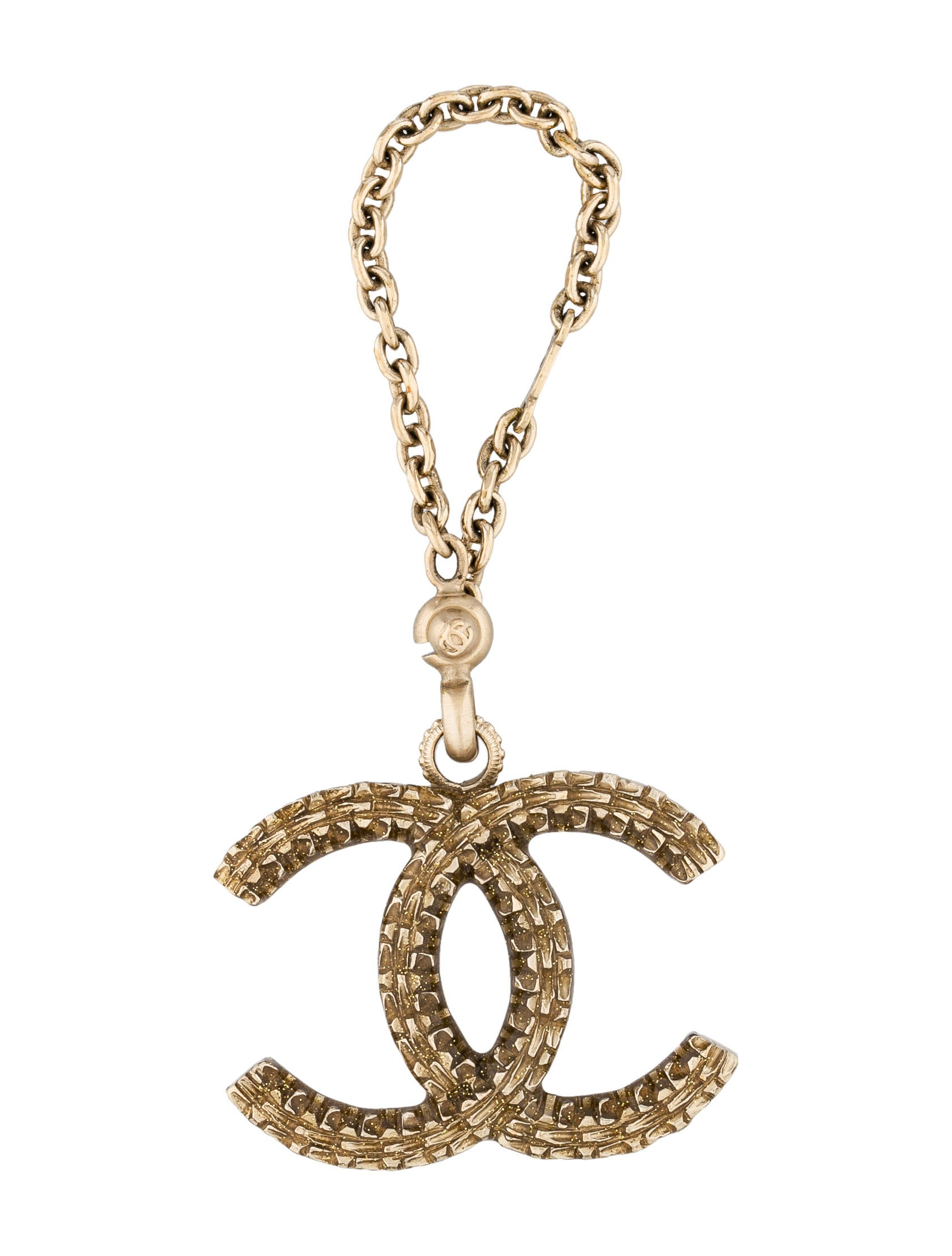 chanel cc bag charm accessories cha48104 the realreal