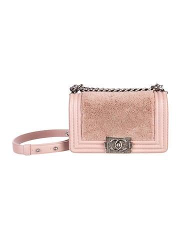 Chanel Small Fur Boy Bag