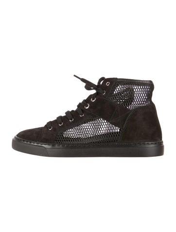 Chanel Mesh Sneakers