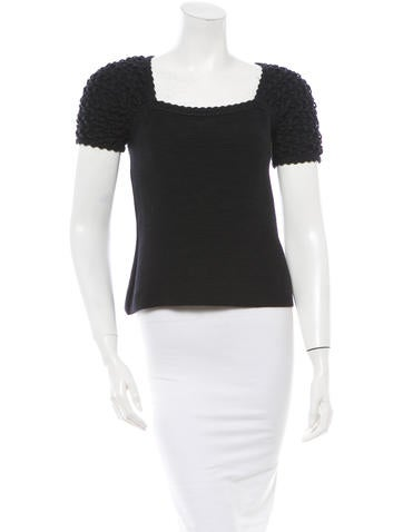 Chanel Knit Top