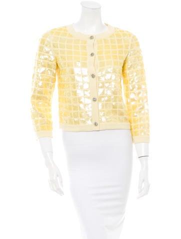 Chanel Sequin Cardigan