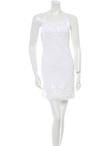 Chanel Embellished Sleeveless Dress