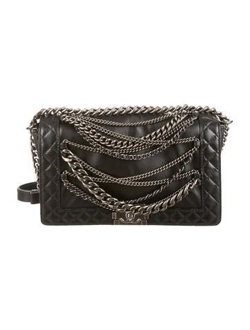 Chanel Medium Enchained Boy Bag