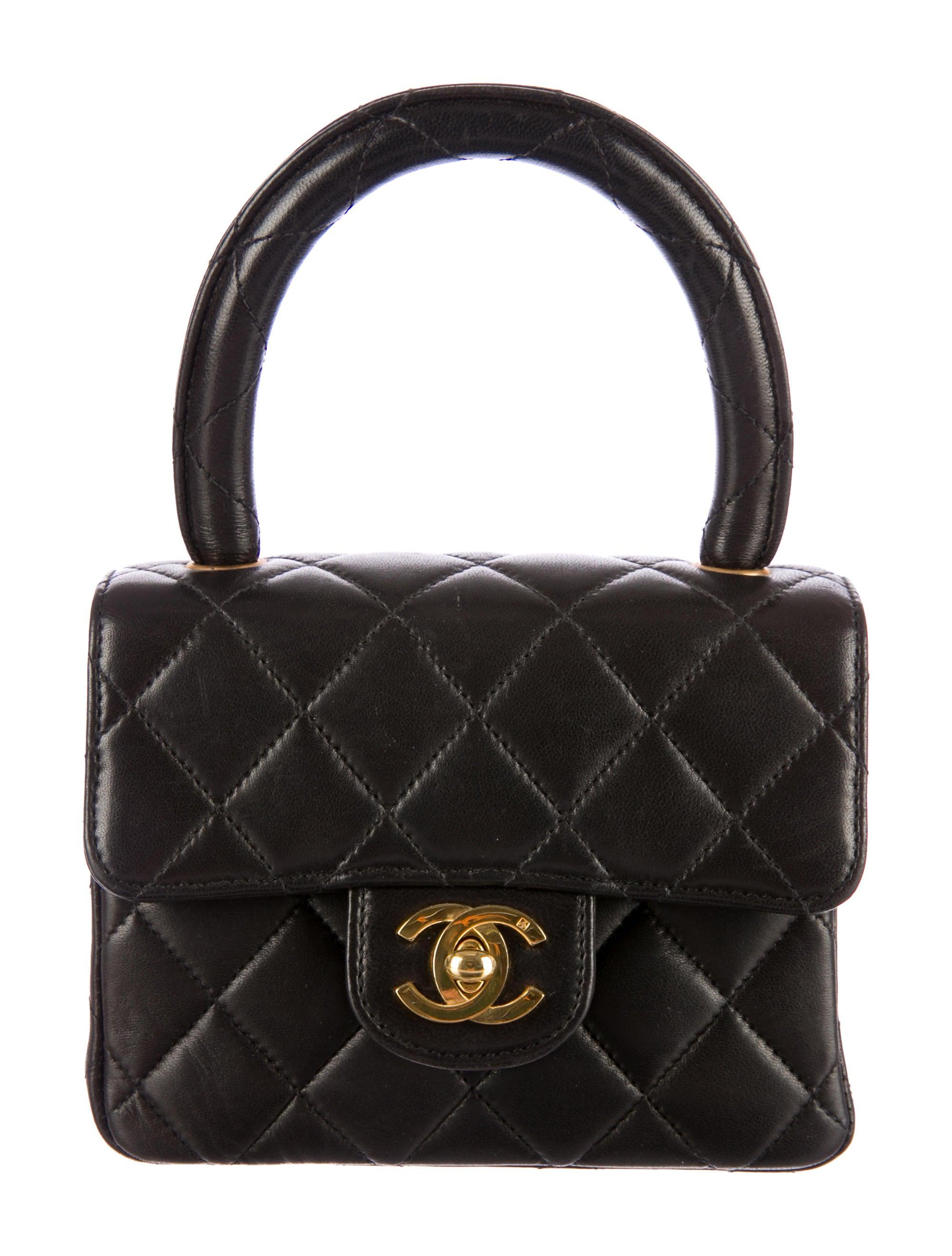 replica hermes bag - Chanel Mini Kelly Bag - Handbags - CHA74150 | The RealReal