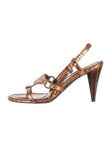 where to buy christian louboutin shoes - Christian Louboutin Vanessa Lizard Sandals - Shoes - CHT43484 ...